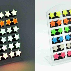 bông tai dạ quang phát sáng trong đêm giá sỉ 8k/đôi 300k/50doi giá sỉ