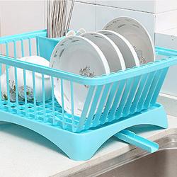 Kệ đựng bát đĩa để vật dụng nhà bếp đa năng