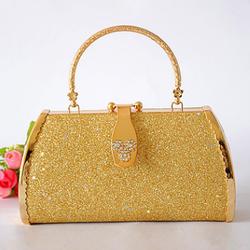 Túi xách ánh kim vàng sang trọng s200