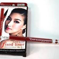 Bút lông vẽ mắt super black