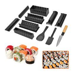 Bộ dụng cụ làm sushi 10 món dao tiện lợi giá sỉ