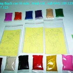 bán combo 100 tranh cát loại 16cmx22cm tặng đủ cát có 12 màu cát giá 650k giá sỉ, giá bán buôn