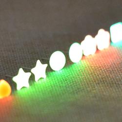 bông tai dạ quang phát sáng trong đêm tối giá sỉ 8k/đôi 150k/20đôi giá sỉ