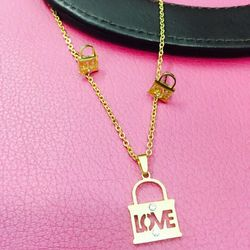 bộ trang sức xi vàng 18 giá sỉ 58k gồm bông tai dây chuyền và mặt dây chuyền