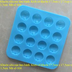 khuôn silicone làm bánh chịu nhiệt cao giá sỉ 35k giá sỉ