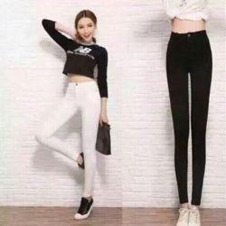 (xưởng sỉ - t2shop.vn) quần leggin 1 nút quảng châu sỉ: 135k lẻ:235k chât: (kaki thun , size : m,l. form nữ từ 40kg >>54kg) . màu sắc : đen, trắng, hồng, xám