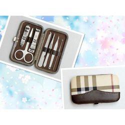 Bộ dụng cụ chăm sóc móng 7 món hộp da nâu - ld028 giá sỉ