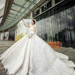 Váy cưới ruxury cao cấp
