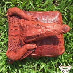 Hàng độc túi đeo chéo da cá sấu txncs03 giá sỉ