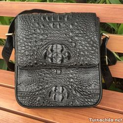 Túi da cá sấu đeo chéo nam tdcst05 giá sỉ