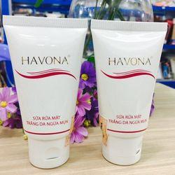 Sữa rửa mặt havona trắng da ngăn ngừa mụn giá sỉ