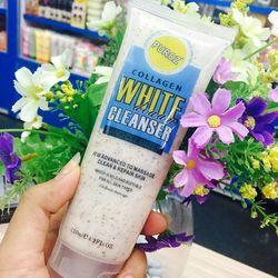 Sữa rửa mặt trắng da trị mụn puroz collagen white cleanser giá sỉ