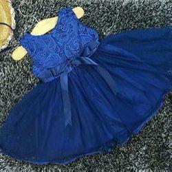 Đầm voan ren bé gái kèm cài giá sỉ
