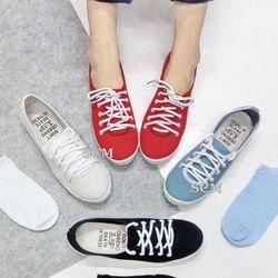 Giày sneaker cột dây giá sỉ