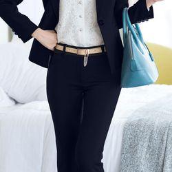 [hàng cao cấp moons.vn] -  set bộ công sở áo vest quần tây cao cấp x3341