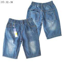 Cồ - quần jean lửng bé trai qt-1775e-135 bán buôn quần áo trẻ giá sỉ