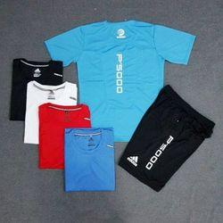 Set bộ nam thể thao  size : m,l lẻ áo size m,l sỉ 70