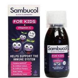 Sambucol tăng sức đề kháng cho bé từ 1-12 tuổi