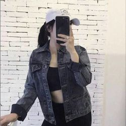 ak4660 áo khoác jean giá sỉ