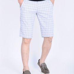 Quần short kaki nam ca rô thời trang giá sỉ