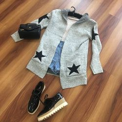 Áo cardigan len qc giá sỉ