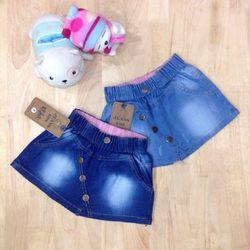 quần váy jean bé gái