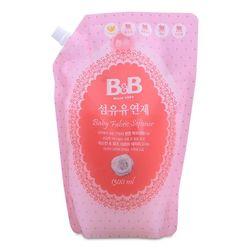 Nước xả vải dành cho bé hương nhài bb baby fabric softener jasmine refill 1300ml giá sỉ