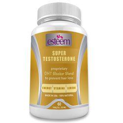 Viên uống tăng cường sinh lý nam esteem super testosterone 60 viên