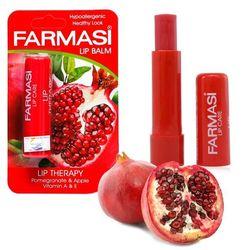 Son dưỡng môi chiết trái cây farmasi lip balm lựu