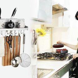 Kệ treo nhôm nhà bếp tiện dụng hbk