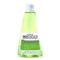 Tonic hữu cơ cân bằng da cho da dầu farmasi skintrends purifying tonic