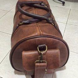 Túi du lịch da bò thật 100% có thêm túi