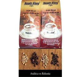 Cà phê hạt robusta-arabica nguyên khang k100