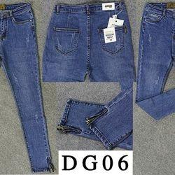 Dg06 quần dài jean nữ form ôm lưng cao
