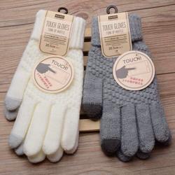 Găng tay len daiso nhật - cảm ứng  chỉ về được 300 đôi, hàng không có nhiều!