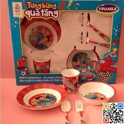 Bộ bát đĩa ăn cho trẻ em - hàng thái lan chất và mẫu mã rất đẹp nhé!!!