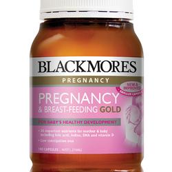 Bán sỉ blackmores pregnancy and breastfeeding gold 180 capsules - thuốc bổ dành cho phụ nữ mang thai và sau sinh giá sỉ