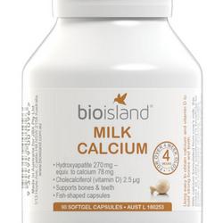 Sữa bổ sung canxi cho bé bio island milk calcium 90 viên giá sỉ