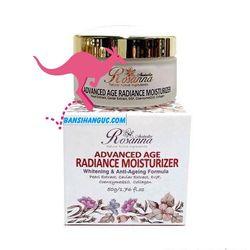 Kem làm trắng và chống lão hoá da rosanna advanced age radiance moisturizer giá sỉ