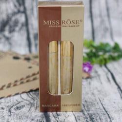 Bộ 2in1 mascara miss rose