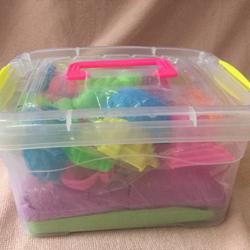 Bộ đồ chơi cát có hộp dành cho bé