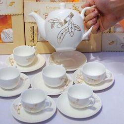 Bộ ấm trà hàn quốc quà tặng ngày tết giá sỉ
