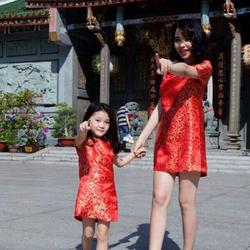 Sét bộ váy mẹ và bé
