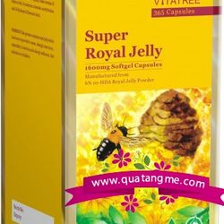 Sữa ong chúa - vitatree super royal jelly 1600mg