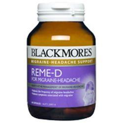 Blackmores reme - d 60 viên - trị đau nữa đầu - rối loạn tiền đình