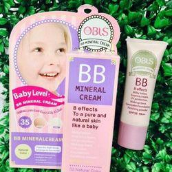 Kem nền makeup bb obis mineral cream che khuyết điểm chống nắng spf35 mịn như da em bé giá sỉ