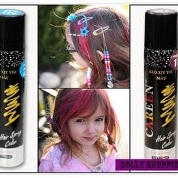 Keo xịt tóc màu tạo kiểu 75ml