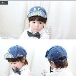 Mũ vải chữ hello_035
