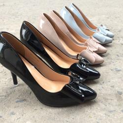 P661-gn09 giày cao gót nơ bướm giá sỉ