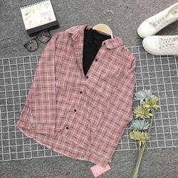 Áo sơmi form rộng phối áo thun hàng korea giá sỉ